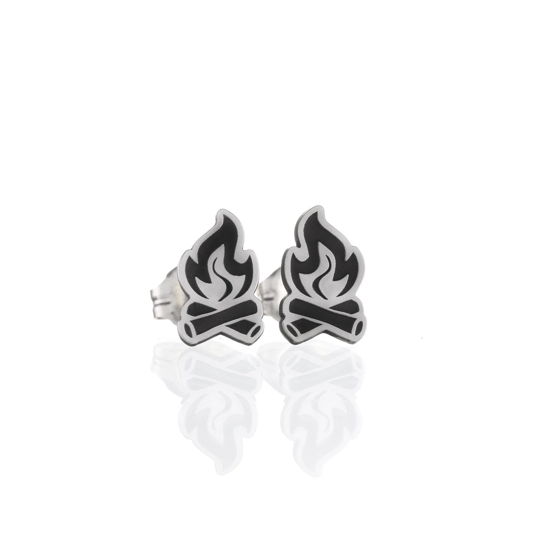 Memories by the Campfire Stud Earrings