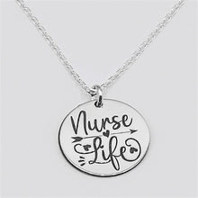 Load image into Gallery viewer, Nurse Life Necklace