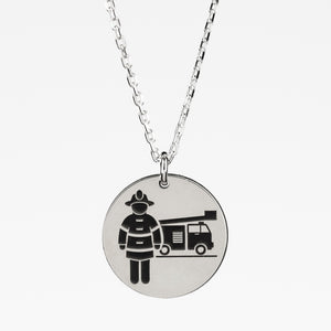 Firefighter Necklace