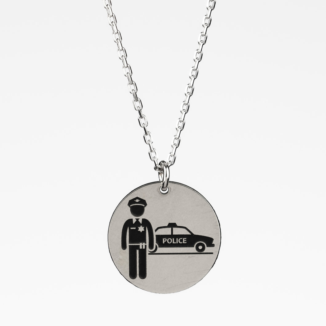 Police Officer Necklace