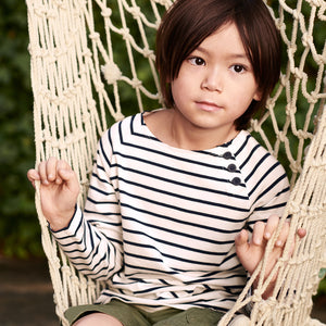 Breton Stripe Kids Top