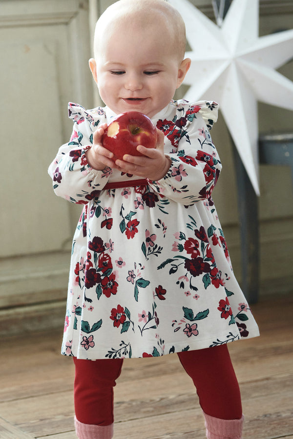 Kids Organic Cotton Floral Dress