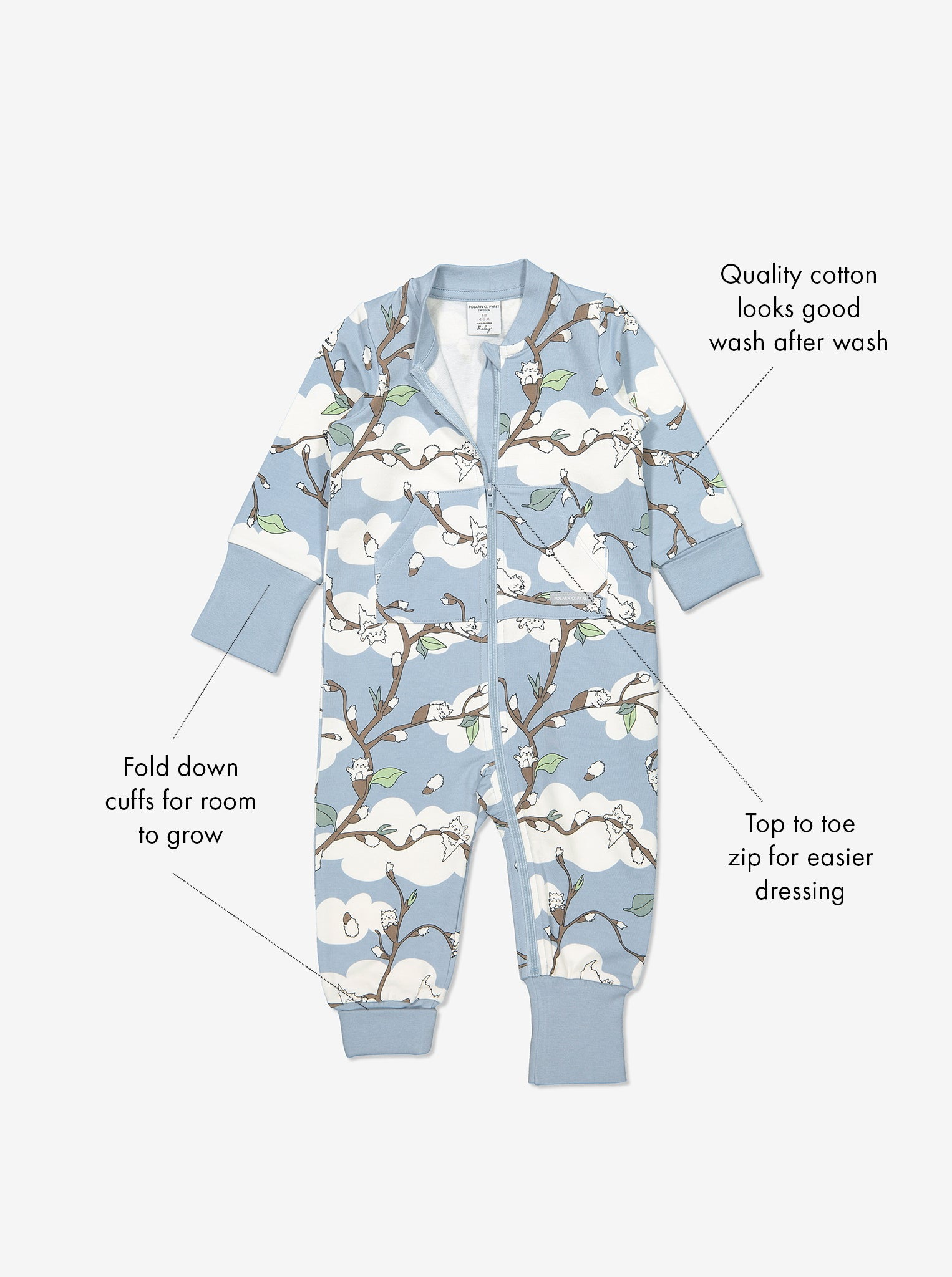 Kids Organic Cotton All-in-One