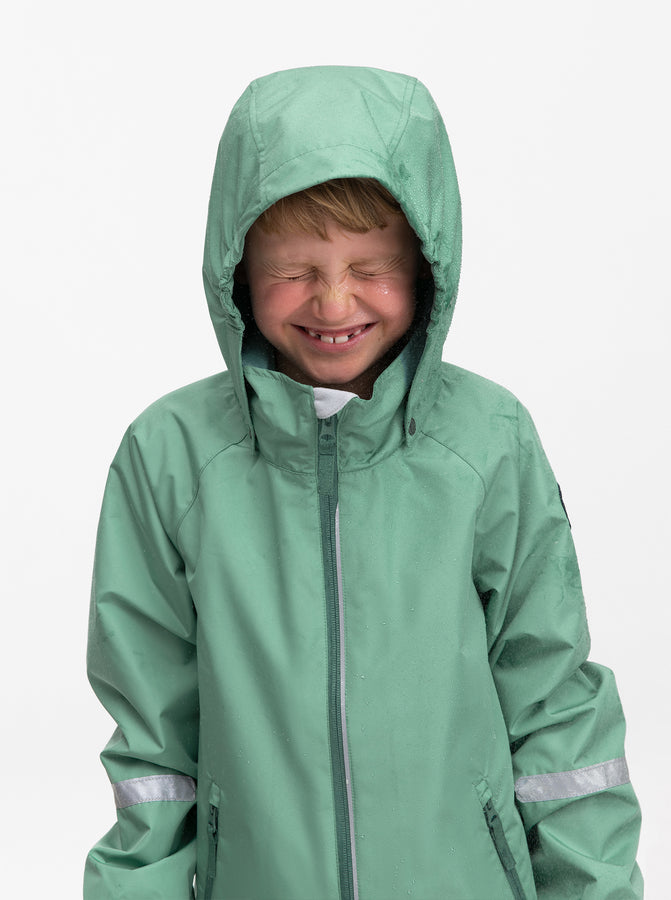 Kids Blue Waterproof Shell Jacket