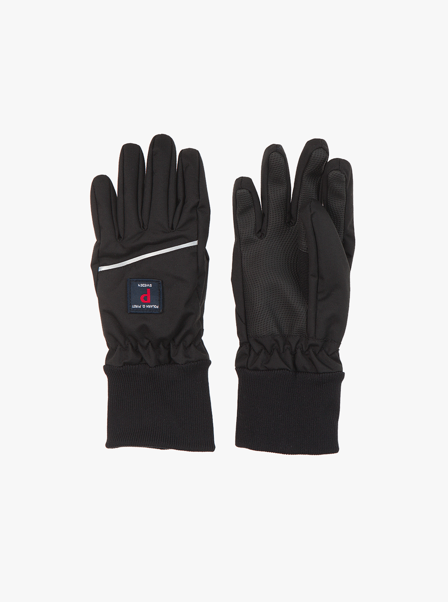 Kids Waterproof Gloves,Black,2-12years