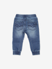 Loose Fit Baby Jogger Jeans Blue Boy 6m-2y
