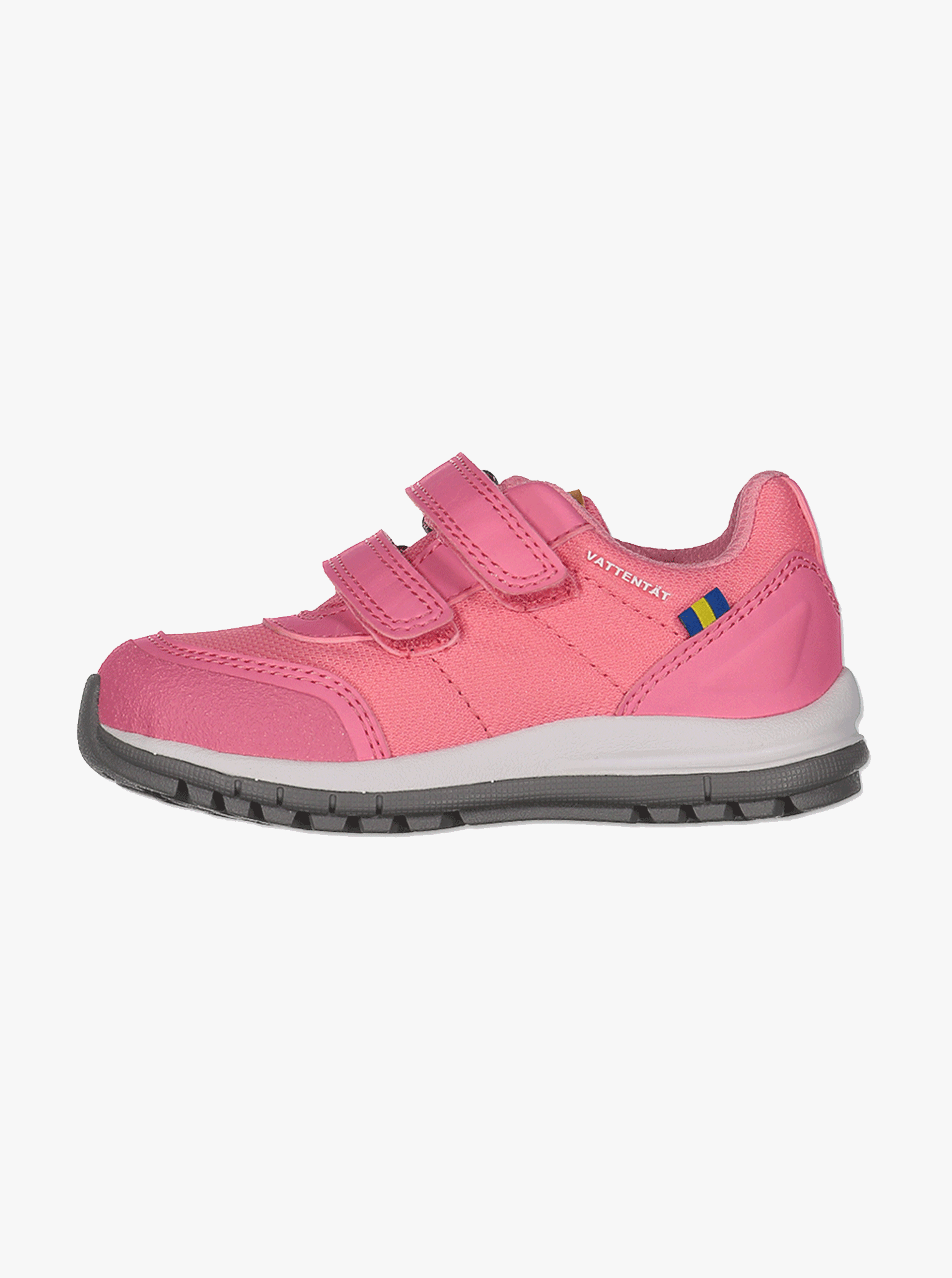 Unisex-Kavat Halland Waterproof Kids Trainers-Pink-UK5 - UK1