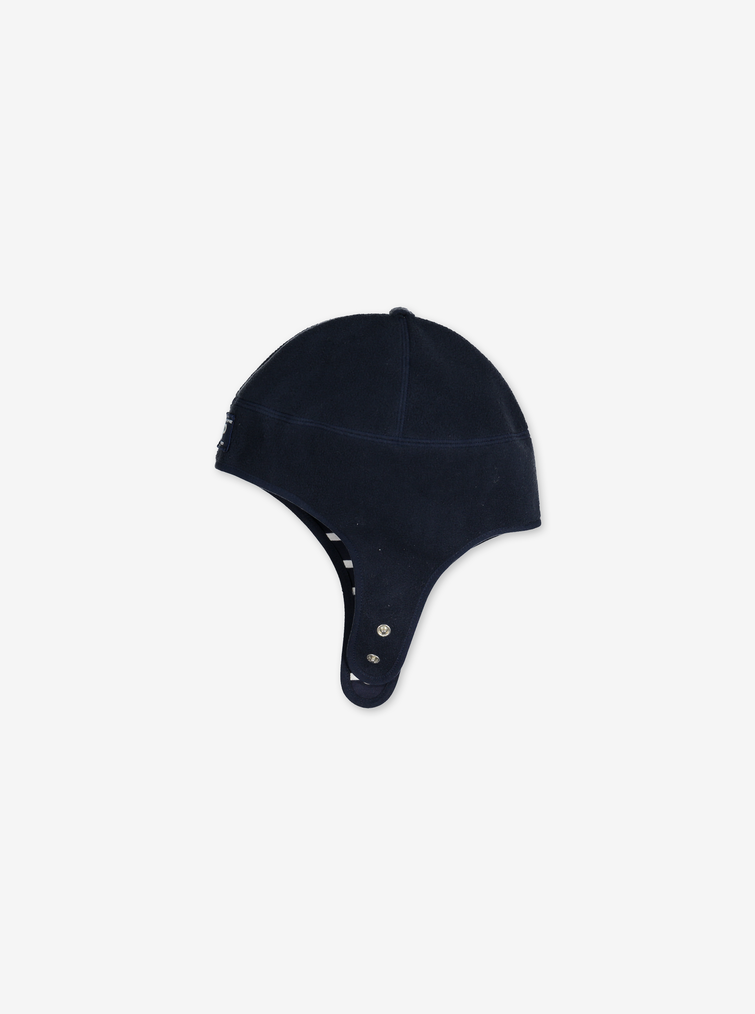 Wind Fleece Baby Hat---Navy---Unisex---1-24m