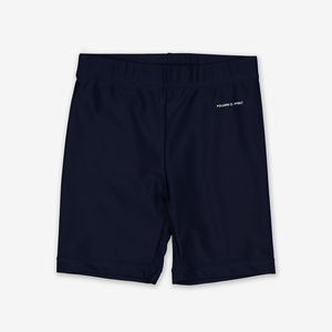 UPF 50 Kids Swim Shorts---Navy---Unisex---1-12y