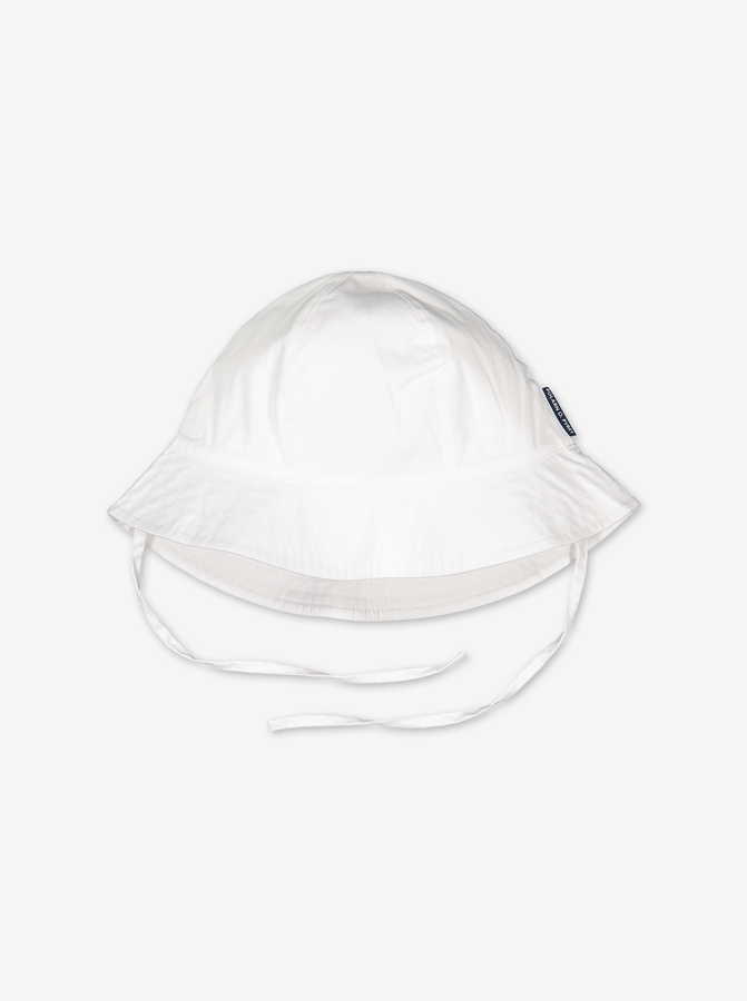 UV Kids Sun Hat---White---Unisex---1m-6y