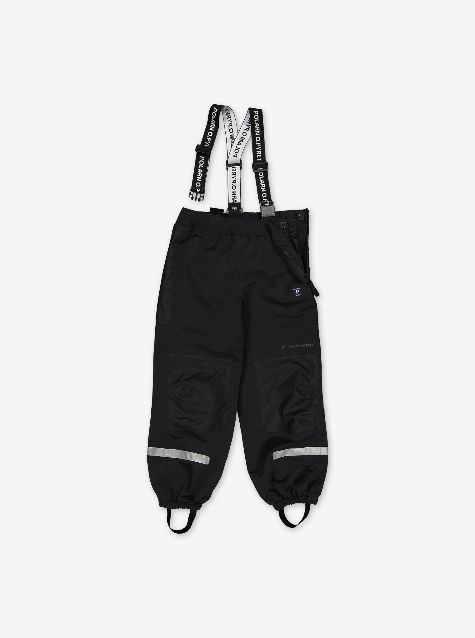 Kids Waterproof Shell Trousers Black
