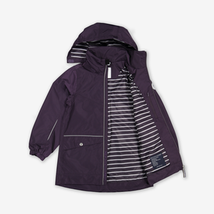 Longline Kids Waterproof Shell Coat
