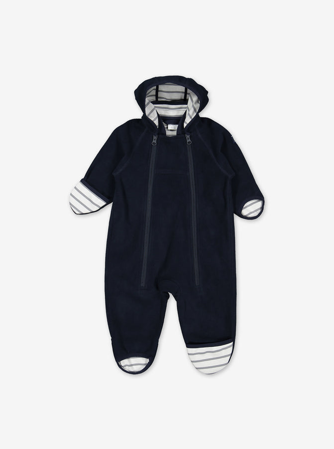 Windproof Fleece Baby Pramsuit
