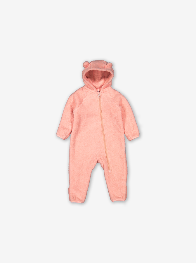 Teddy Fleece Baby Pramsuit