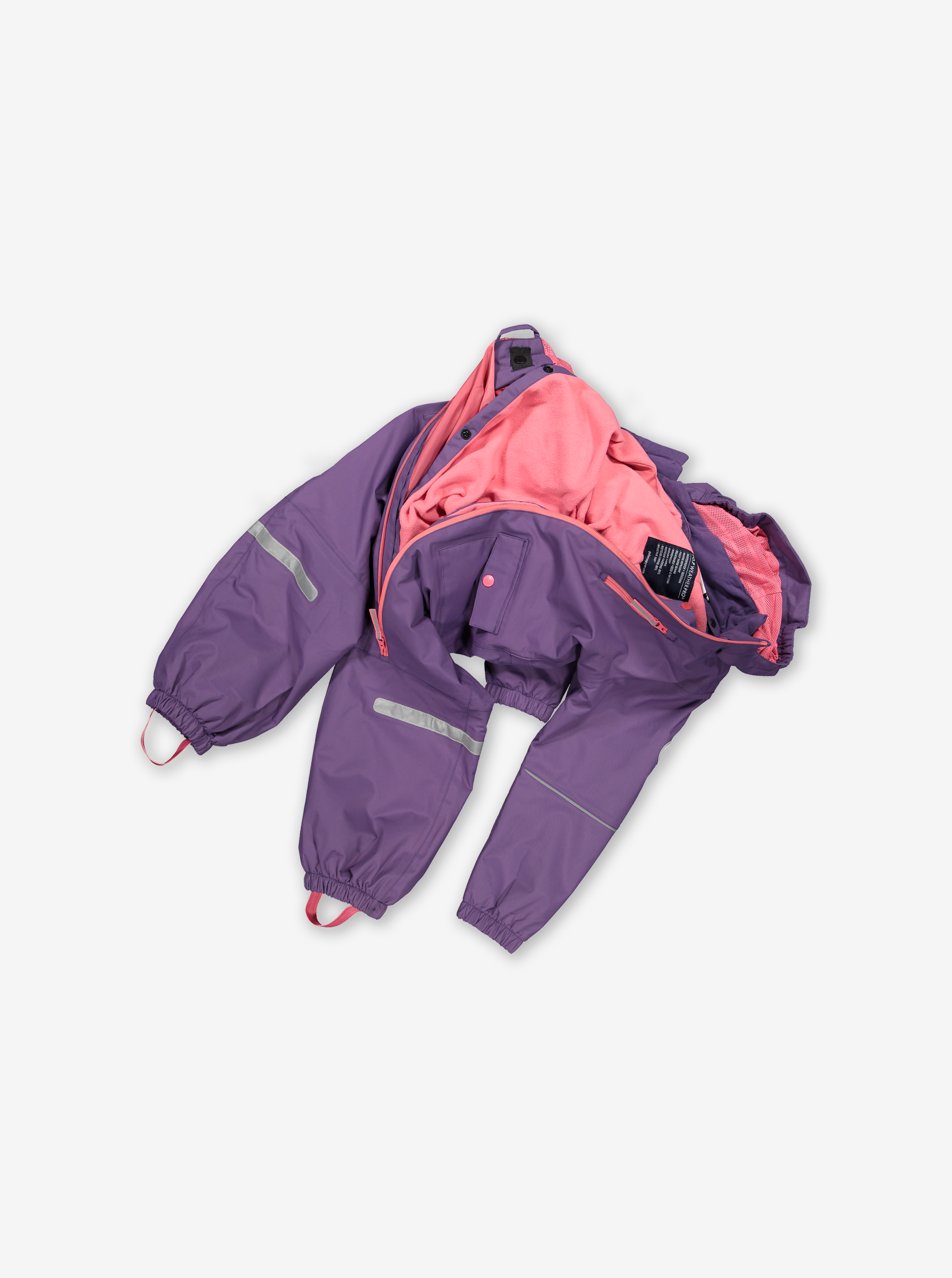 Waterproof Shell Fleece Lined Kids Overall