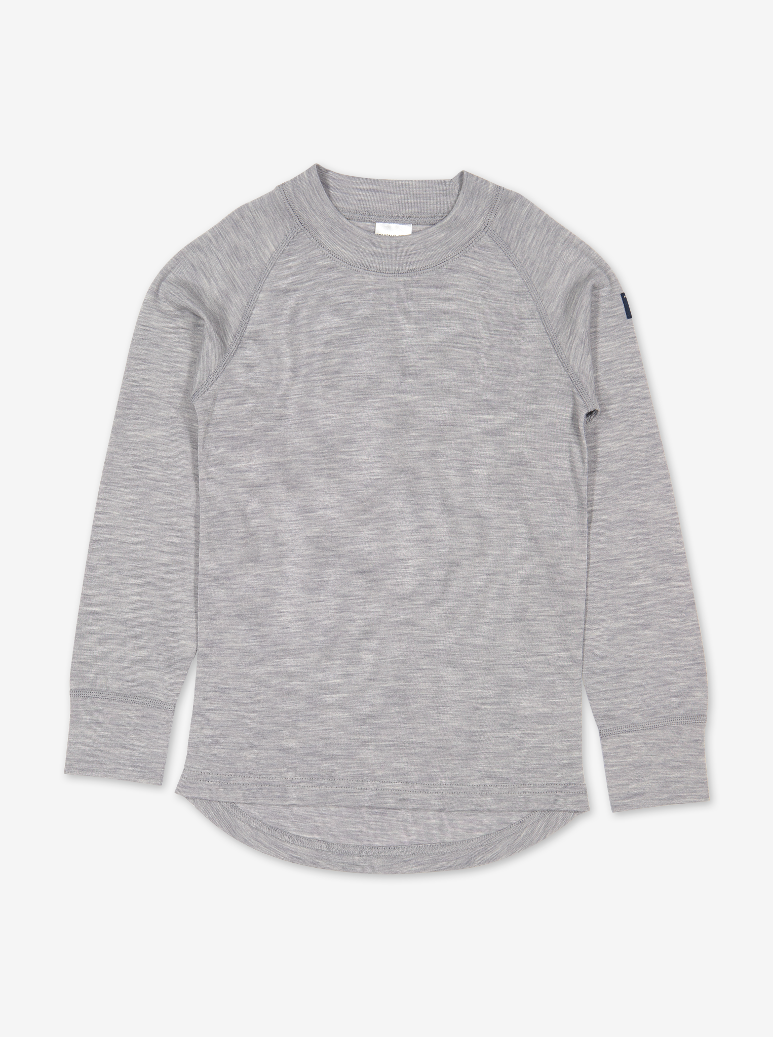 Thermal Merino Kids Top---Grey---Unisex---6m-12y