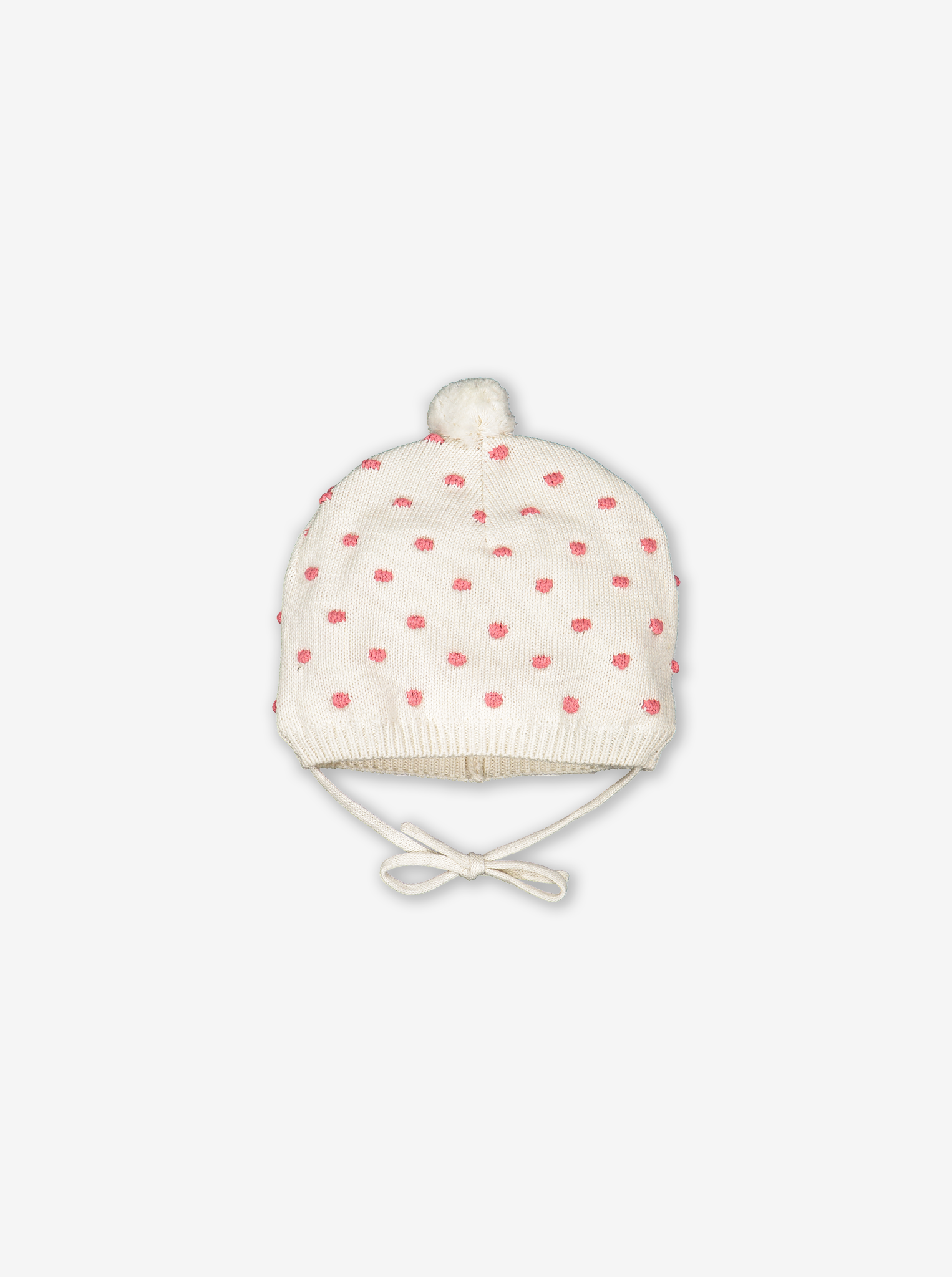 Dotty Knitted Baby Hat