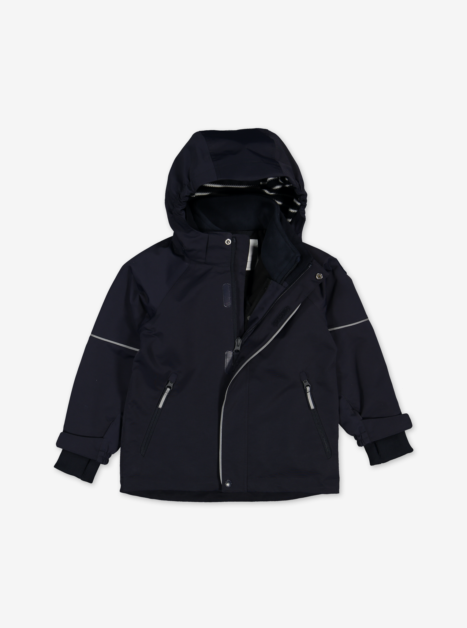 Waterproof Kids Shell Jacket---Navy---Unisex---9m-12y