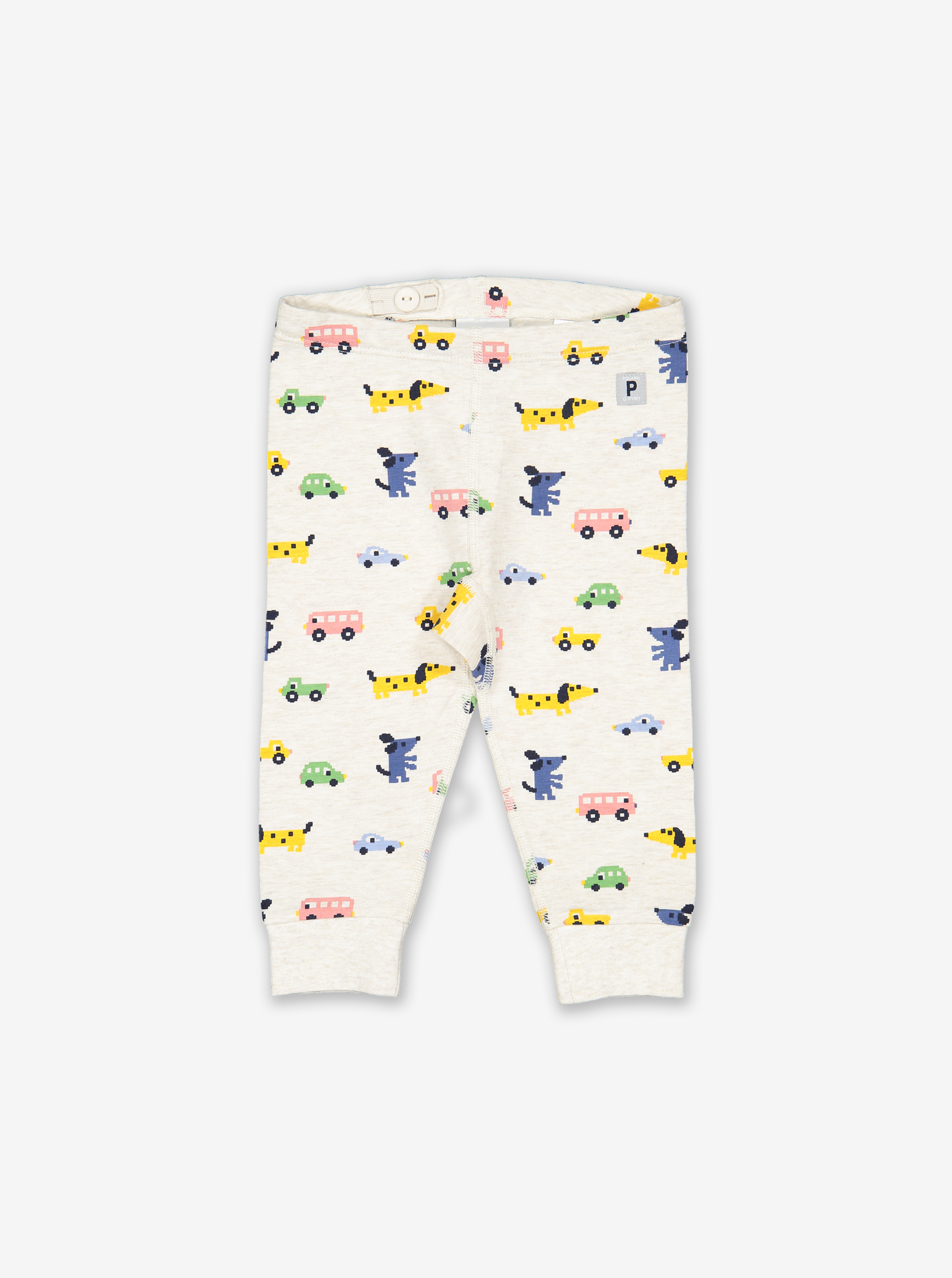 Puppies & Cars Baby Leggings