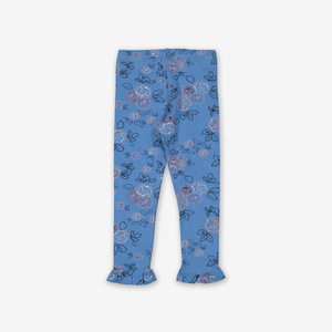 Rose Print Kids Leggings