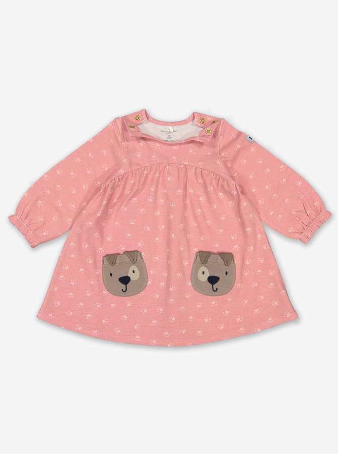 Pup Pocket Baby Dress