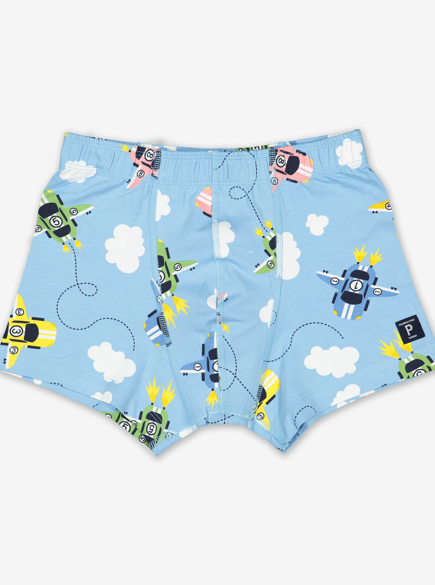 Flying Racer Print Boys Boxer