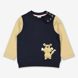 Dog Appliqu㉠Kids Sweatshirt