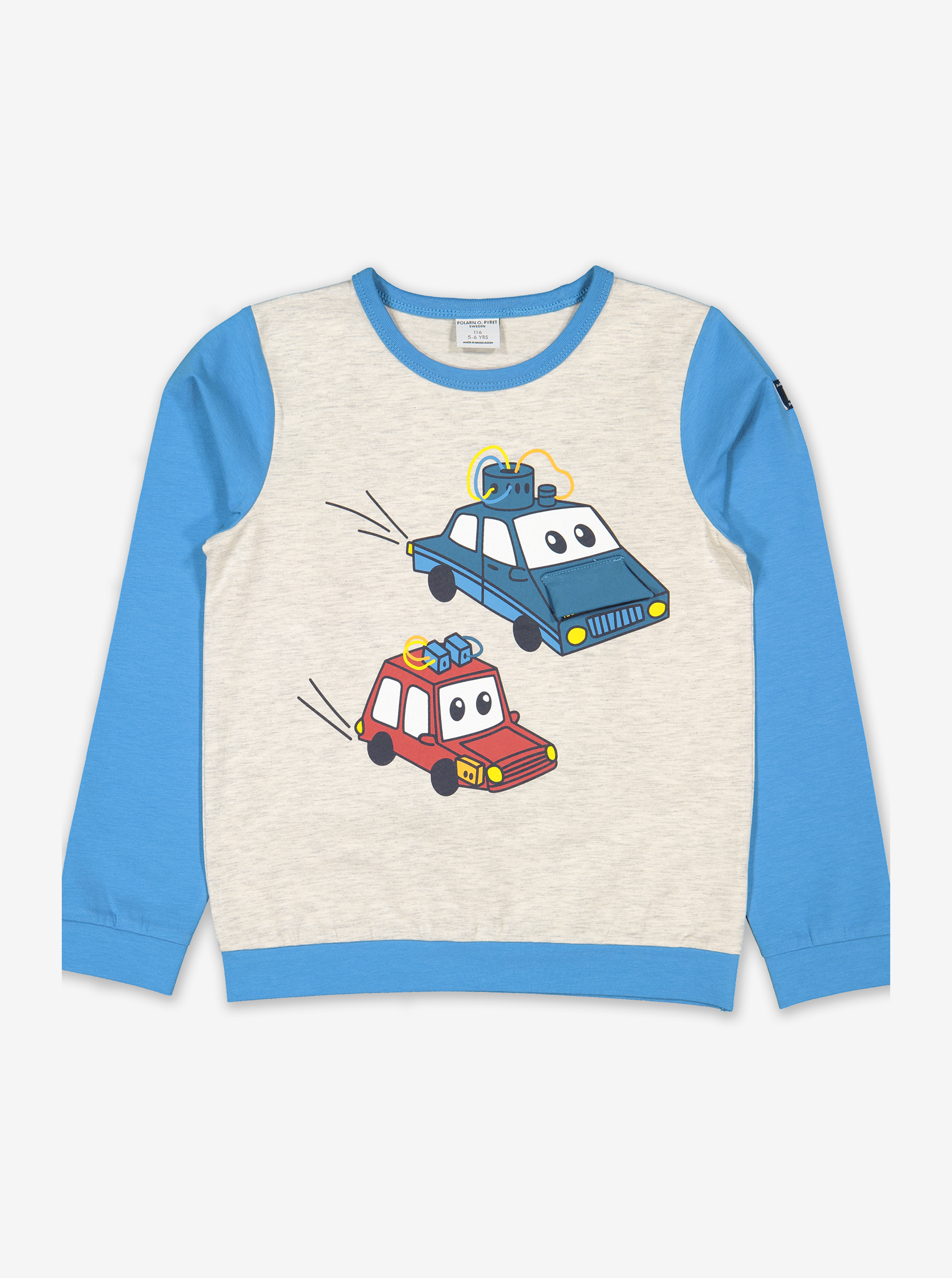 Car Print Kids Top