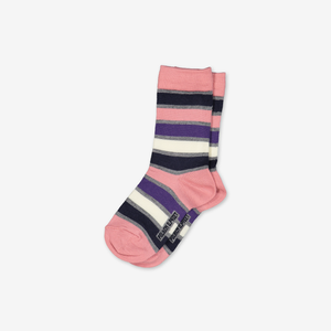 Striped Merino Kids Socks