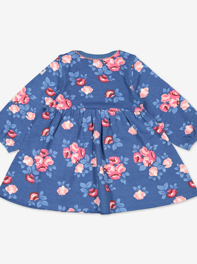 Scandi Rose Baby Dress
