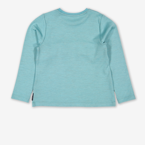 Cotton Lined Merino Kids Top