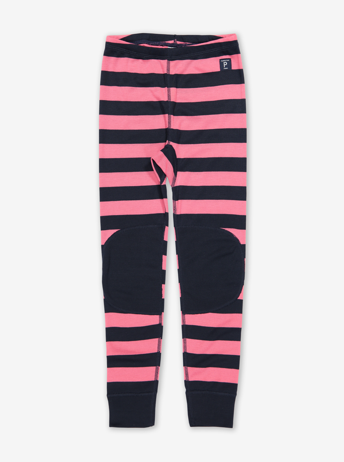 Kids Striped Thermal Long Johns