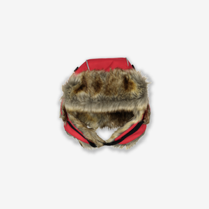 Kids Fur Trim Hat