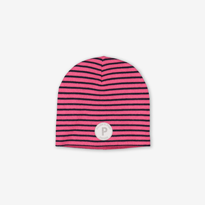 Striped Merino Kids Hat
