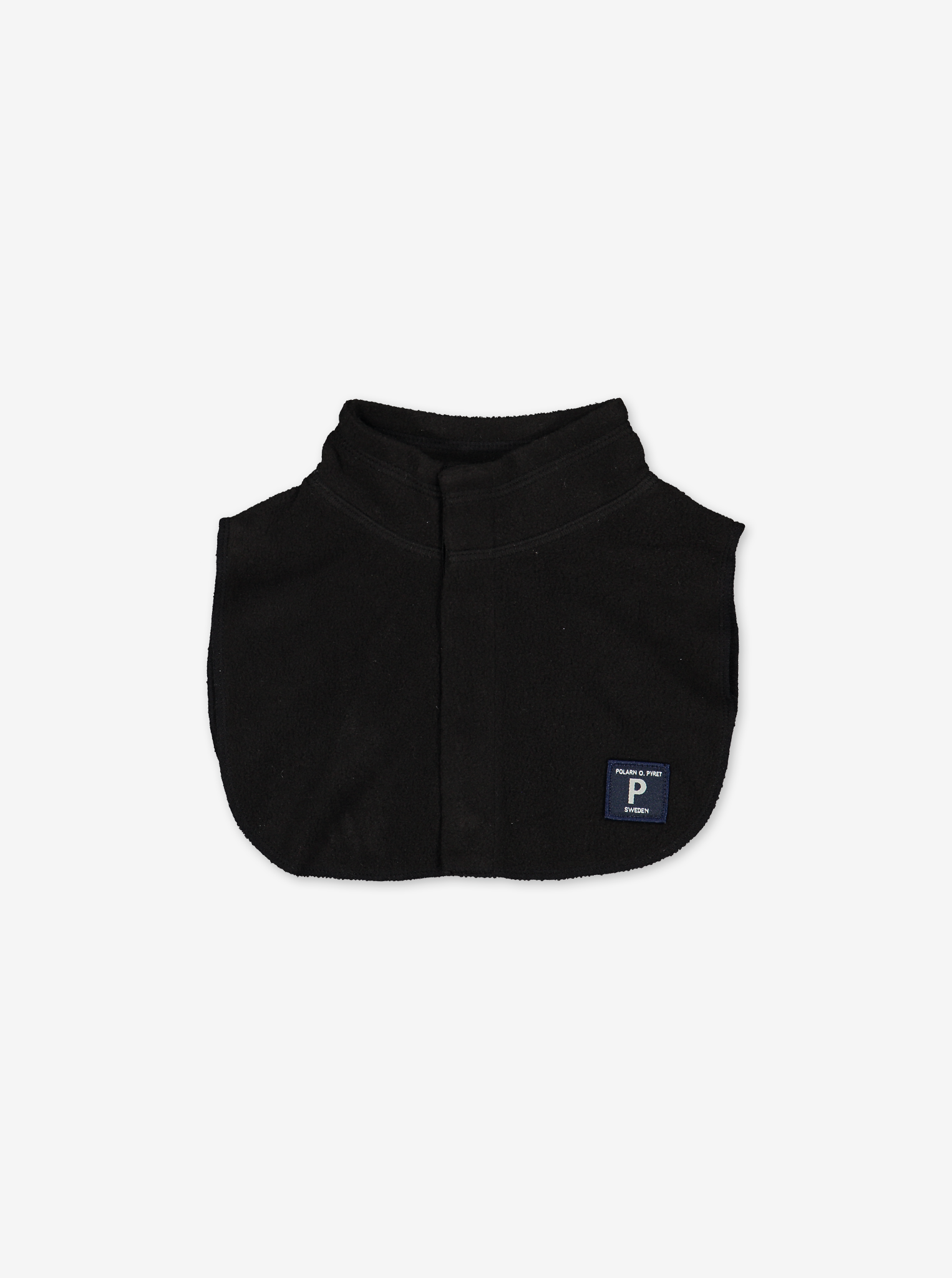 Kids Fleece Neck Warmer---Black---Unisex---2-12y