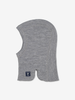 Thermal Merino Kids Balaclava---Grey---Unisex---4m-12y