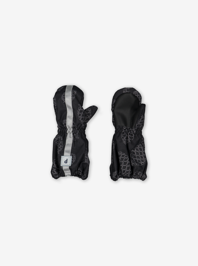 Kids Padded Winter Mittens