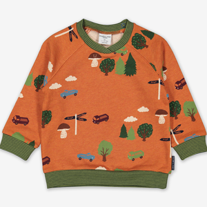 Scandi Forest Kids Sweatshirt Grey