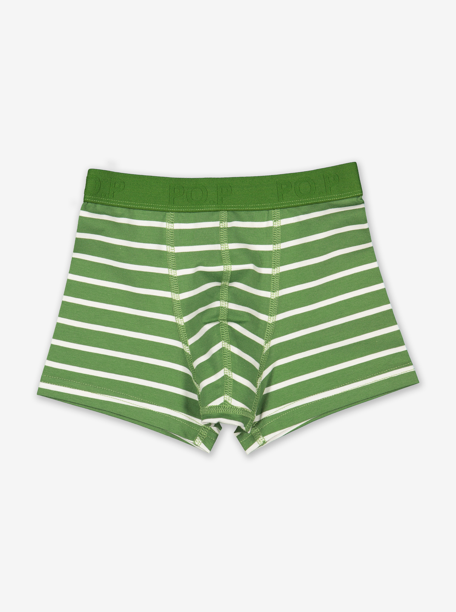 Striped Boys Boxers Blue