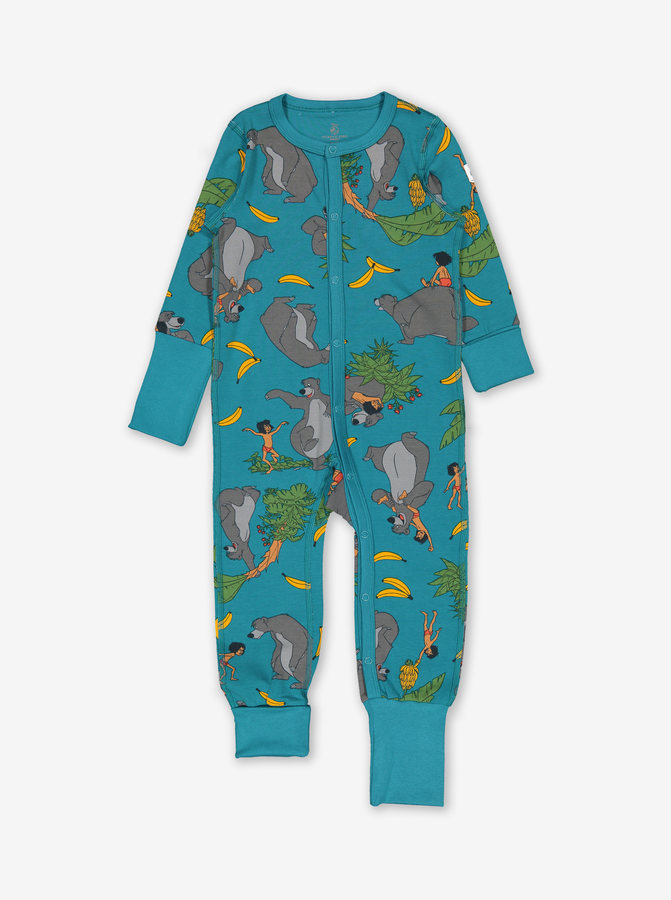 Jungle Book Baby Onesie Pyjamas Blue