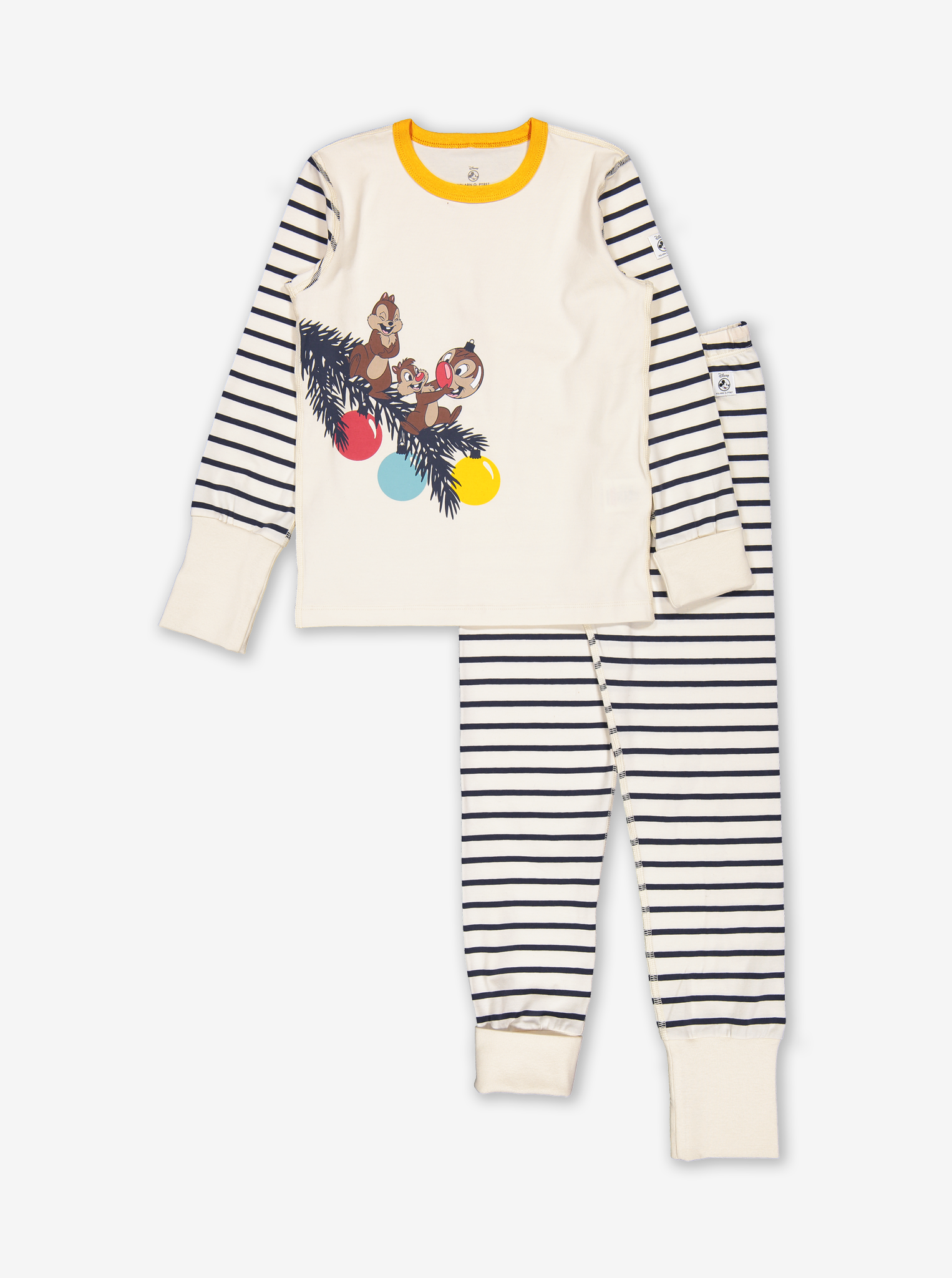 Chip 'N' Dale Kids Pyjamas Natural