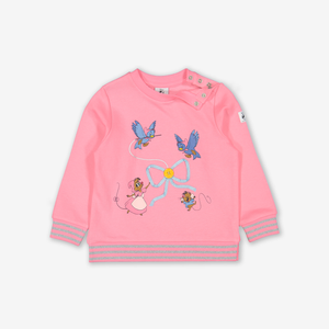 Cinderella 3D Kids Sweatshirt Blue