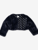 Cosy Kids Bolero Jacket Blue