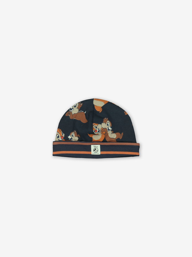 Chip 'N' Dale Reversible Baby Hat Blue
