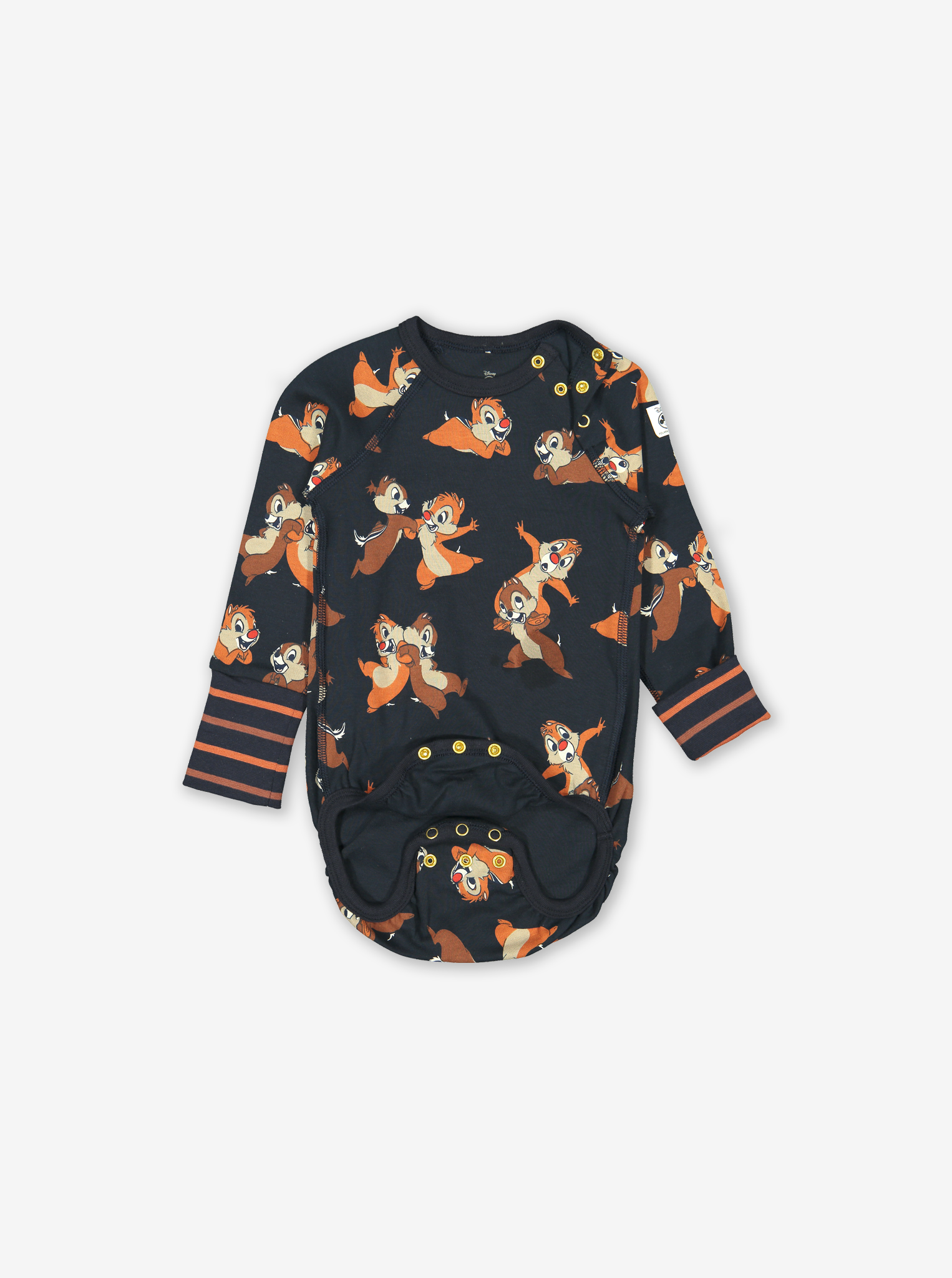 Chip 'N' Dale Baby Bodysuit Blue