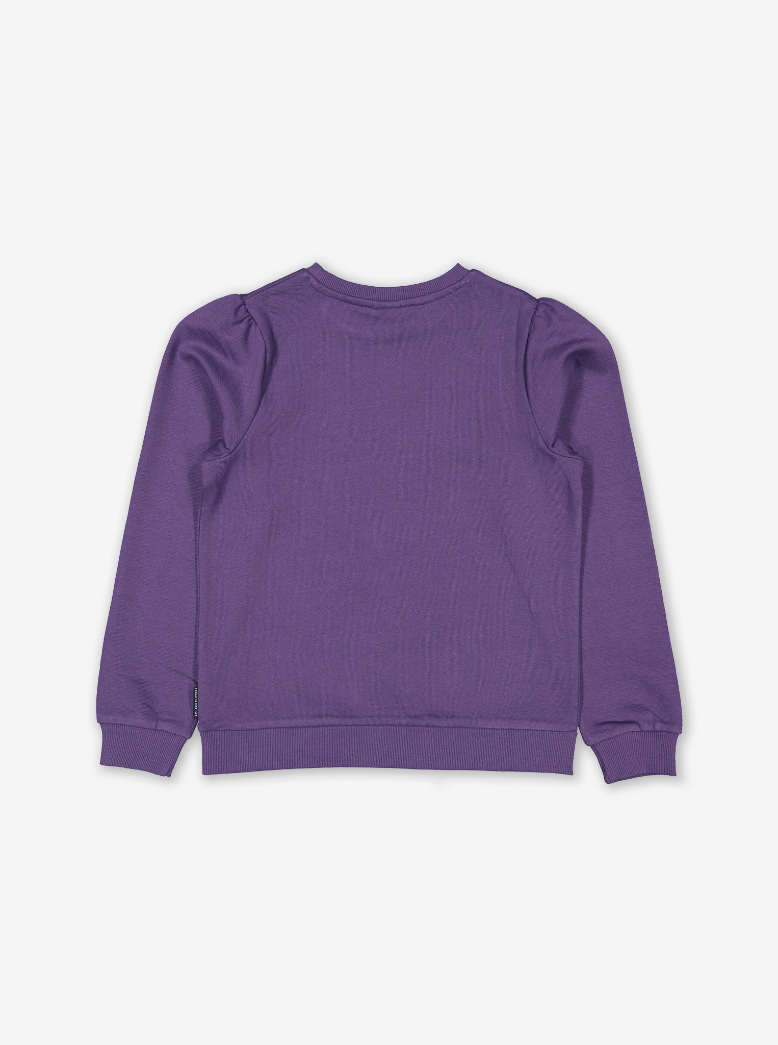Colour Change Rabbit Kids Sweatshirt Purple