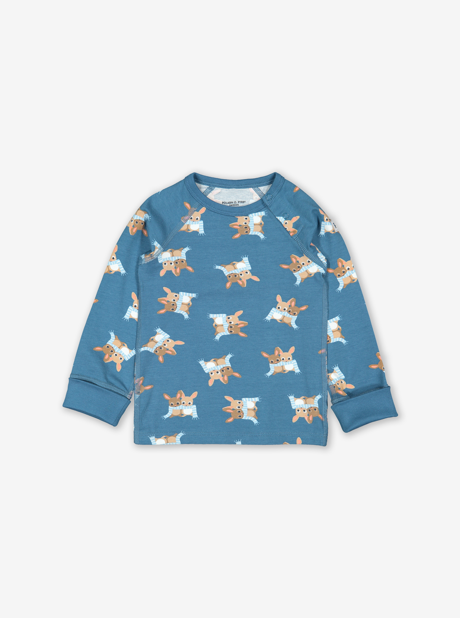 Dormouse Baby Top Blue