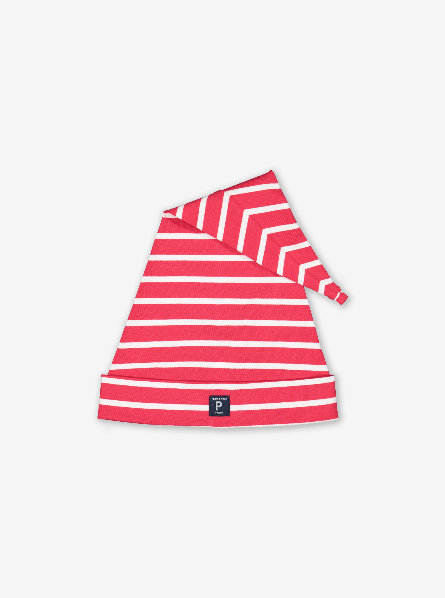 Long Striped Hat Red