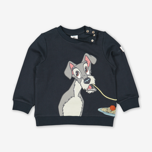 Lady & The Tramp Kids Sweatshirt Blue