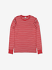 PO.P Stripe Adult Top Red Unisex XS -XL